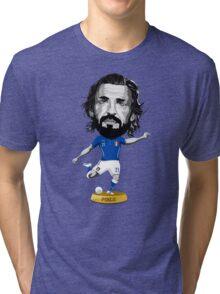 Pirlo figure Tri-blend T-Shirt