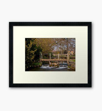 Lower Slaughter  Cotswolds  UK Framed Print