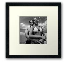 Beached! Framed Print