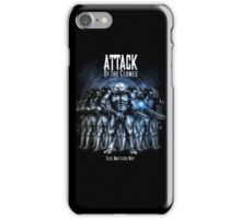 Sontaran's: Attack of the Clones - Size Matters Not iPhone Case/Skin