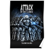 Sontaran's: Attack of the Clones - Size Matters Not Poster