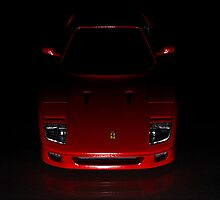 Ferrari F40  by Robert Wright
