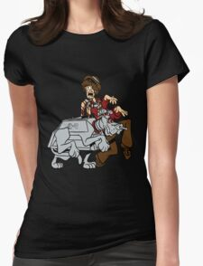 Scooby Who Womens Fitted T-Shirt