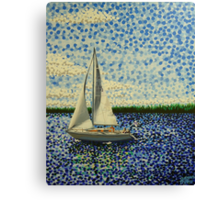 Sailing with Olivia Canvas Print
