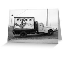 Route 66 - Oklahoma Trading Post Truck Greeting Card