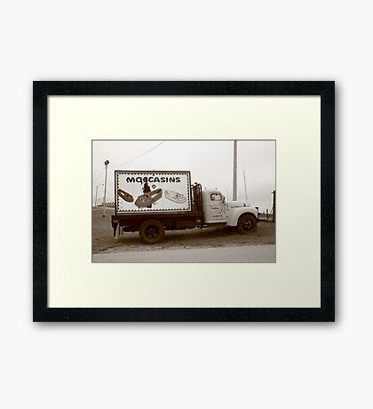 Route 66 - Oklahoma Trading Post Truck Framed Print