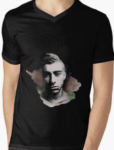 Zquad  Mens V-Neck T-Shirt