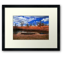 Beauty and the Bog - The Other Side Framed Print