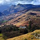 Cloud on the Langdale peaks by Shaun Whiteman