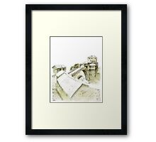 Mostar, old bridge Framed Print