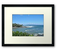 Honokeana Bay, Maui, Hawaii Framed Print