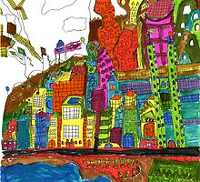 Funky Town by David  Loitz