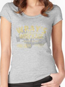 Wrays wreckage Women's Fitted Scoop T-Shirt