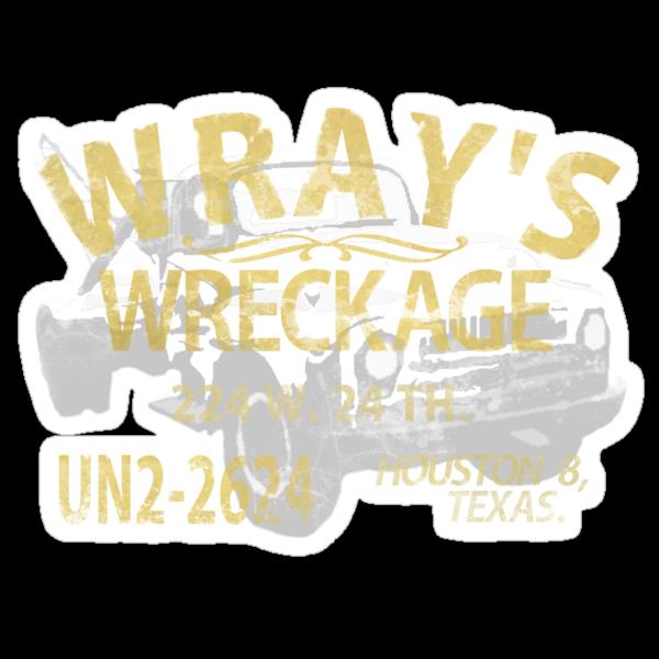 Wrays wreckage by Purplecactus