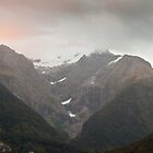 Sunrise in Milford Sound, New Zealand by Robert Kelch, M.D.