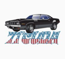 71 Cuda by superiorgraphix