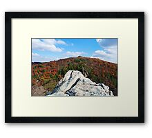 Defy Gravity - King & Queen Seat in Maryland Framed Print