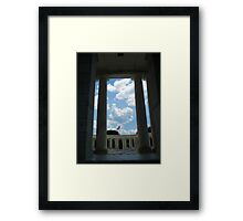 To The Brave Fallen - Arlington, VA Framed Print