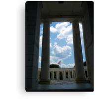 To The Brave Fallen - Arlington, VA Canvas Print