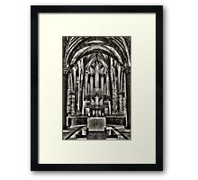 St Giles Organ Framed Print