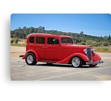 1934 Chevrolet Sedan Canvas Print