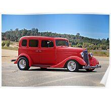 1934 Chevrolet Sedan Poster