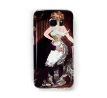 Jules Alexandre Grün Lady Underwear Samsung Galaxy Case/Skin