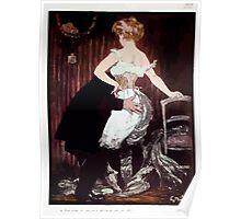 Jules Alexandre Grün Lady Underwear Poster