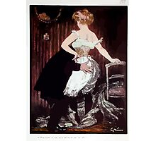 Jules Alexandre Grün Lady Underwear Photographic Print
