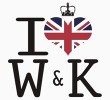 I heart William & Kate by Casper