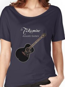 Takamine Acoustic Guitars  Women's Relaxed Fit T-Shirt