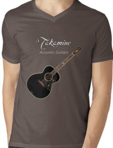 Takamine Acoustic Guitars  Mens V-Neck T-Shirt