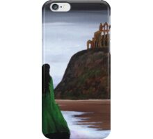 Whitby Witch (Green) iPhone Case/Skin