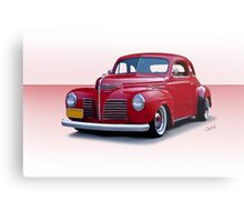 1940 Plymouth Coupe I Metal Print
