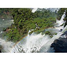 Iguazu Falls Rainbow Photographic Print
