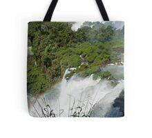 Iguazu Falls Rainbow Tote Bag