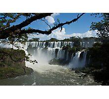 Iguassu Falls Brazil Photographic Print