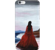 Whitby Witch (Crimson) iPhone Case/Skin