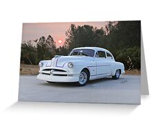 1949 Pontiac 'Custom' Chieftain Greeting Card