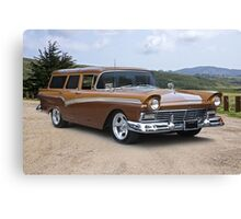 1957 Ford Country Wagon Canvas Print