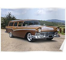 1957 Ford Country Wagon Poster