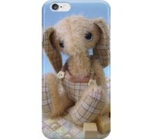 Enu Elephant - Handmade bears from Teddy Bear Orphans iPhone Case/Skin