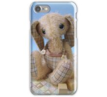 Enu Elephant - Handmade bears from Teddy Bear Orphans iPhone Case/Skin