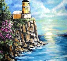 Split Rock Lighthouse by Pamela Plante