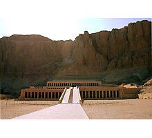 Temple Of Queen Hatshepsut Photographic Print