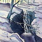 Winter Falls by Glenn  Marshall