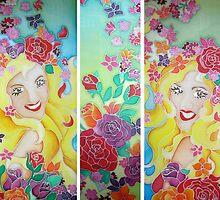 Goddess of Spring by Angel Ray