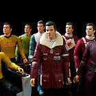 Captains Kirk by Brian Leadingham