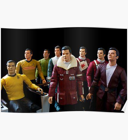 Captains Kirk Poster