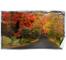 FALL COUNTRYSIDE Poster